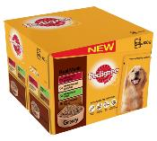 DOTS BOURNEMOUTH DONATION - Pedigree Pouches (Adult) - Real Meal in Gravy (24 X 100g)