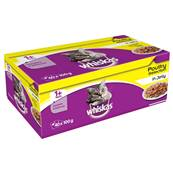 Whiskas Cat Pouch Multipack - Poultry In Jelly - 40 x 100g