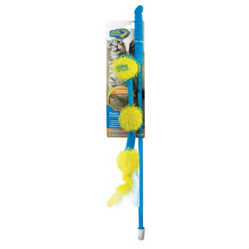 Our Pets Cosmic Catnip Wand Balls- Threes A Crowd Multi