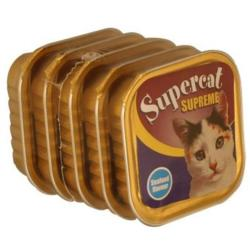 ASSISI ANIMAL SANCTUARY DONATION - Supercat Supreme Seafood Cat Foils (5 X 100g)