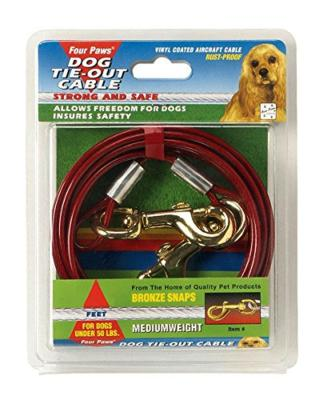 Four Paws Tie Out Cable (Mediumweight)