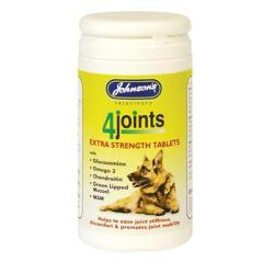MOOSE'S SIGHTHOUND TRUST DONATION - Johnson's 4 Joints Mobility Extra Strength Tablets 30 Pack For D