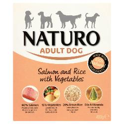Naturo Salmon And Rice With Vegetables 150g
