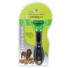 Furminator DeShedding Tool For Small Dogs With Long Hair - Under 9kg