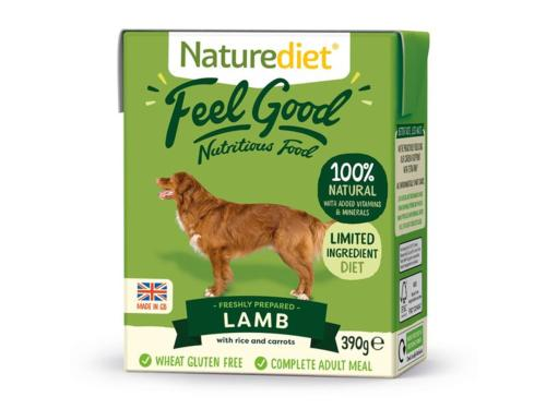 ASSISI ANIMAL SANCTUARY DONATION - Naturediet Lamb Tray 390g