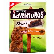 LURCHER SOS DONATION - Purina Adventuros Dog Treats - Buffalo Flavour Sticks 90g