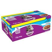 Whiskas Cat Pouch Multipack - Fish Selection - 40 X 100g
