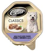 Cesar Classics Wet Dog Food - Lamb and Chicken 150g