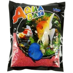 Aqua Base Prosperous Red Aquarium Gravel 1kg