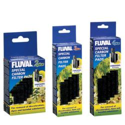 Fluval Carbon Pads Aquarium Filter Media Sponge (Plus Series)