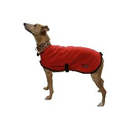 LURCHER SOS DONATION - HOTTERdog By Equafleece Dog Coat - Red