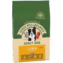 James Wellbeloved Gluten Free Dog Food (Adult) - Lamb and Rice 7.5kg