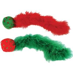 KONG Holiday Christmas Wild Tails Active Cat Toy
