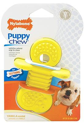 Nylabone Puppy Rhino Teether Small