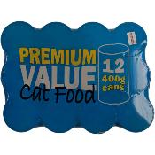 Premium Value Cat Food (12 x 400g)