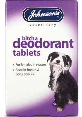 Johnson's Bitch And Deodorant Tablets