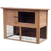 "Double Rabbit Hutch 46"" LB-304"