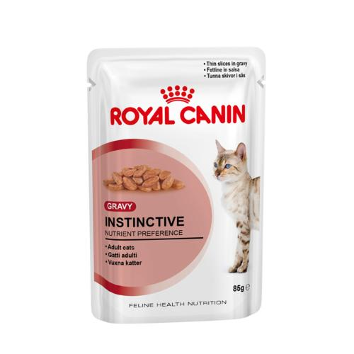 Royal Canin Cat Pouch Adult 85g Instinctive in Gravy