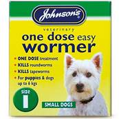 Johnson's One Dose Easy Wormer