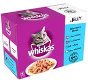 Whiskas Multipack 12x100g Fish Selection In Jelly