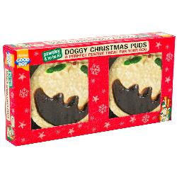 Armitage Pawsley Doggy Christmas Puddings