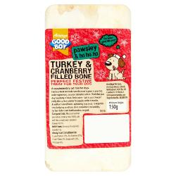 Armitage Pawsley Turkey & Cranberry Filled Bone