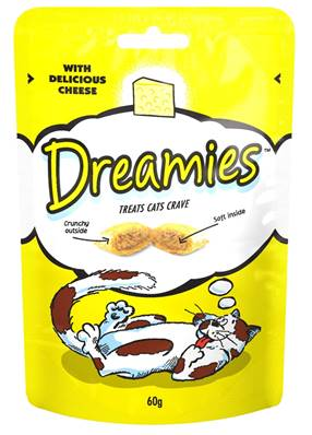 Dreamies Cat Treats - Cheese 60g