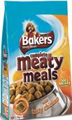 Bakers Complete Meaty Meals Dog Food (Adult) - Chicken 2.7kg