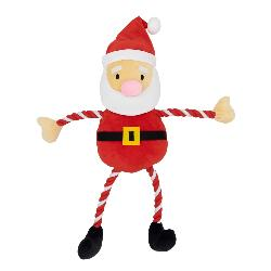 Goodboy Giant Hug Tug Santa Dog Toy 75cm