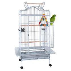 Liberta Voyager Open Top Parrot Cage Antique