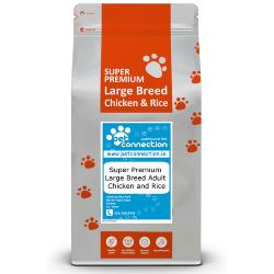 Pet Connection Super Premium Hypoallergenic Adult Dog Food (Large Breed) - Chicken & Rice