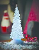 Colour Changing Water-Filled Christmas Tree