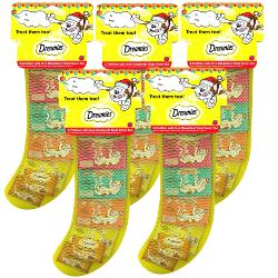 Dreamies Christmas Stocking Cat Treats Pack Of 5