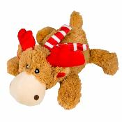 Kong Holiday Cozie Reindeer Dog Toy Medium