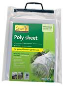 Gardman Poly Sheet 6x2m (280 Gauge Poly Bag) Clear