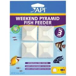 API Weekend Holiday Fish Feeder Pyramid Blocks