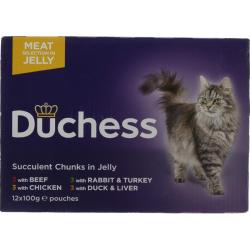 Duchess Meat In Jelly Variety Pack (12x100g)