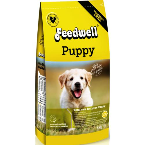 Feedwell Gluten Free Dog Food for Puppy - 8kg