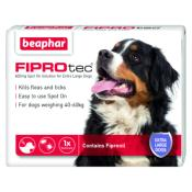 Beaphar Fiprotec Spot On Flea Removal and Prevention for X-Large Dogs (40 - 60kg) - 1 Treatment
