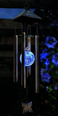 Gardman Solar Colour Changing Windchime Light 18356