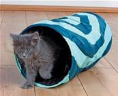 Trixie Rustling Cat Playing Tunnel Nylon, 25x50cm