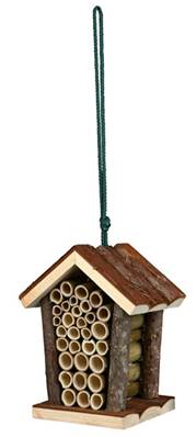 Trixie Natura Insect Hotel Small Pitched Roof 16x19x12cm
