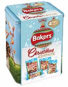 Bakers Christmas Edition Treats Tin