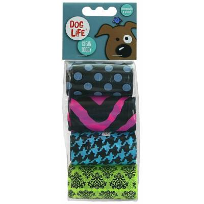 Dog Life Biodegradable Poop Bags (80 Bags)