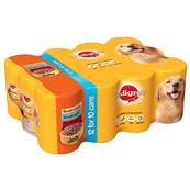 Pedigree Wet Dog Food Tins (Adult) - Mixed Chunks In Jelly (12 X 400g)