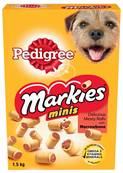 Pedigree Markies Minis Dog Biscuits - Meaty Rolls With Marrowbone 1.5kg