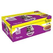 ASH ANIMAL RESCUE DONATION - Whiskas Cat Pouch Multipack - Poultry In Jelly - 40 x 100g