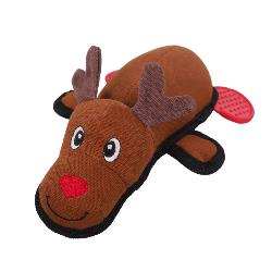 Rosewood Cupid & Comet Tough Reindeer Dog Toy