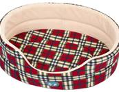 Gor Pets Argyll Standard Bed Red Check