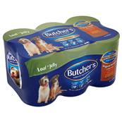 Butchers Gluten Free Wet Dog Food Tins - Original Recipes In Loaf And Jelly (6 X 400g)